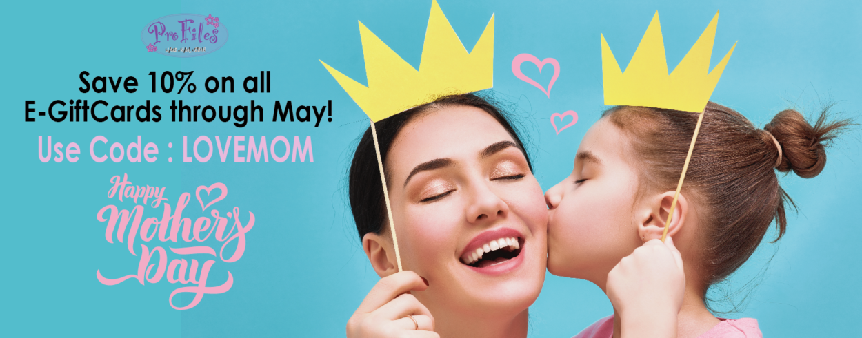 Save 10% on all e-giftcards through May! Use Code: LOVEMOM